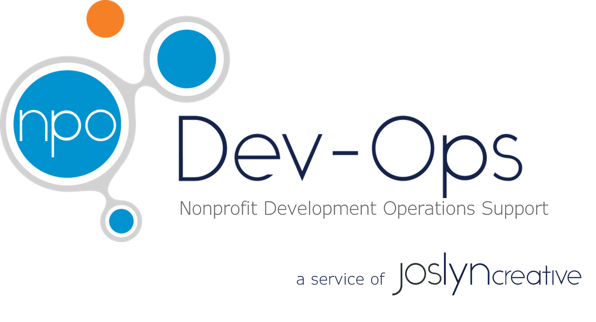 NPO Dev-Ops by Joslyn Creative